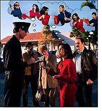 Očité svedectvo na mieste činu často poskytuje rozdielne scenáre toho, čo sa stalo. Každý človek má rozdielnu realitu ohľadom toho, čo sa stalo žene, ktorej niekto ukradol peňaženku.