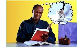 Keď si slovo vyhľadá v slovníku a definuje si ho...